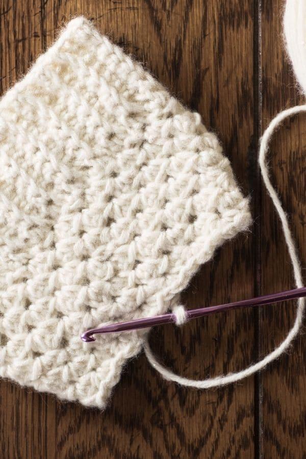 Crochet blanco